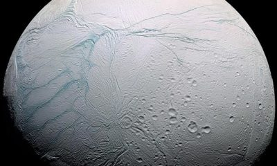 Humanity's best hope for finding alien life may be Saturn's moon Enceladus. 97