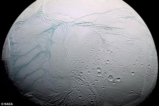 Humanity's best hope for finding alien life may be Saturn's moon Enceladus. 3