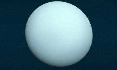 Uranus was struck by a massive proto-planet 91