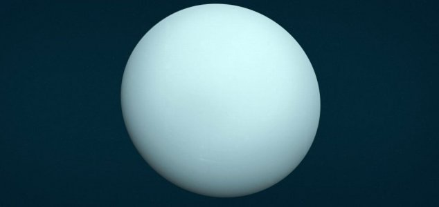 Uranus was struck by a massive proto-planet 1