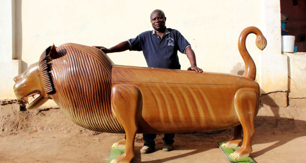 Stream this Documentary About Ghana's Most Celebrated Fantasy Coffin Maker 19