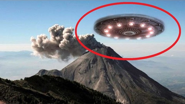 Do aliens use volcanoes as an energy source for their UFOs? 4