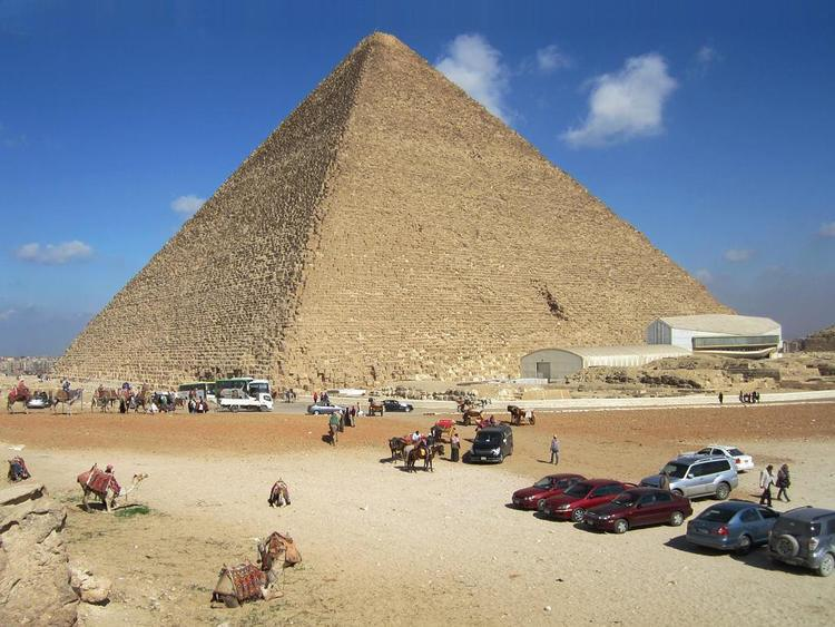 The Great Pyramid of Giza was a giant power machine 90