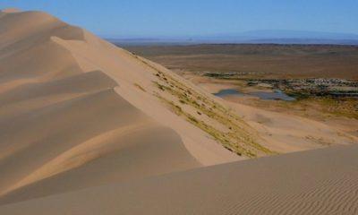 Did Google Accidentally Reveal Secret Military Base or UFO Runway in The Gobi Desert ? 91