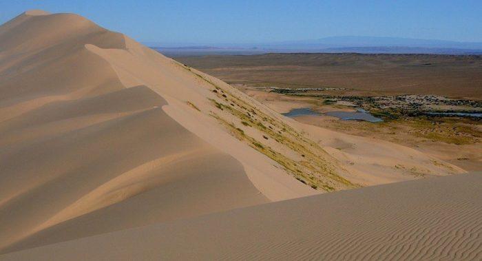 Did Google Accidentally Reveal Secret Military Base or UFO Runway in The Gobi Desert ? 1
