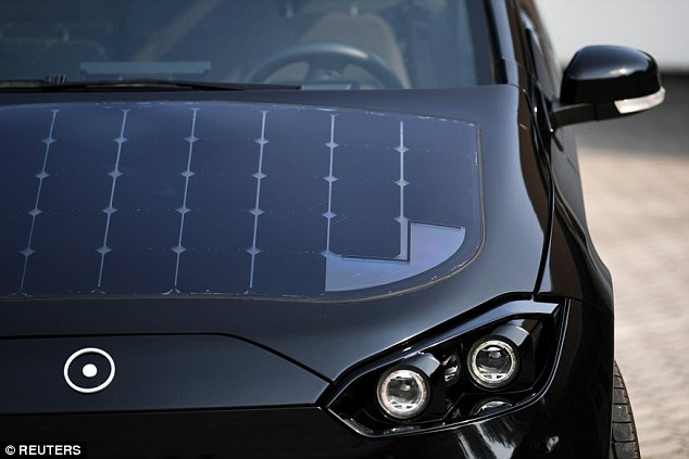 New solar powered car developed in Germany 19