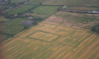Previously Hidden Ancient Sites Emerge Across Britain Due To Hot Weather 97