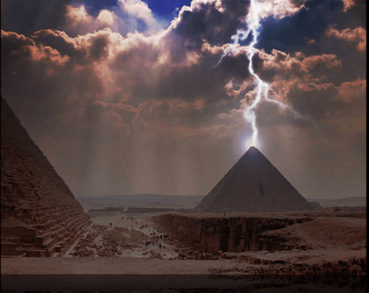 The Great Pyramid of Giza was a giant power machine 92