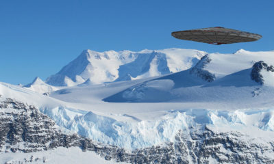 Antarctica is being monitored by UFOs, official document confirms 90