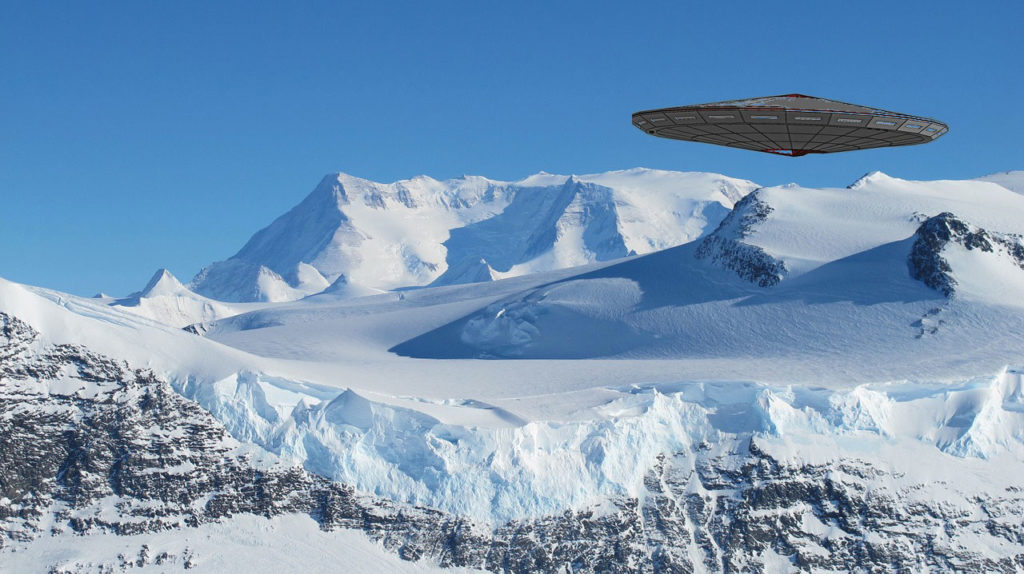 Antarctica is being monitored by UFOs, official document confirms 1