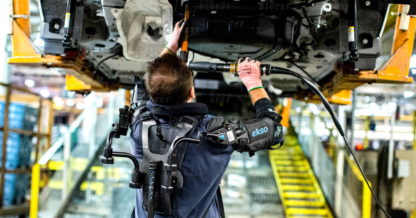 Exoskeletons are About to Walk Ford's Factory Floors 1