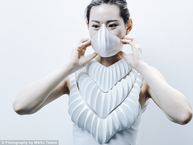 3D printed set of 'gills' could let humans live under water 5