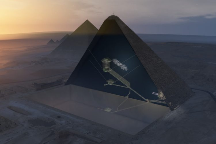 The Great Pyramid of Giza was a giant power machine 91