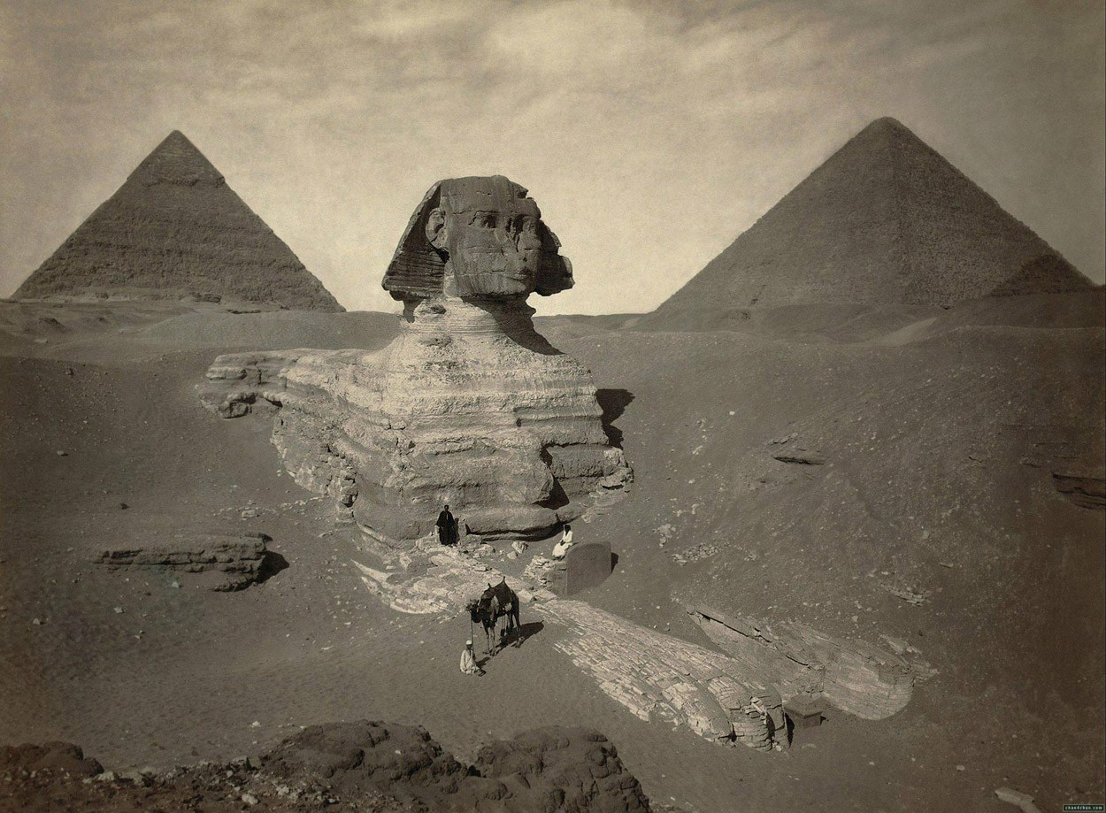 Geological evidence proves that the Great Sphinx is 800,000 years old 94