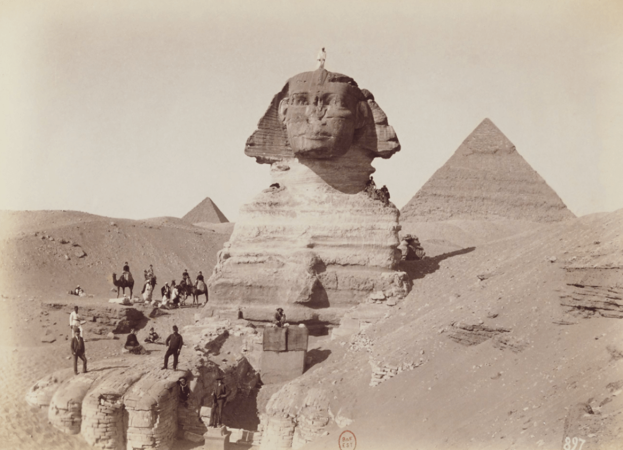 Geological evidence proves that the Great Sphinx is 800,000 years old 95