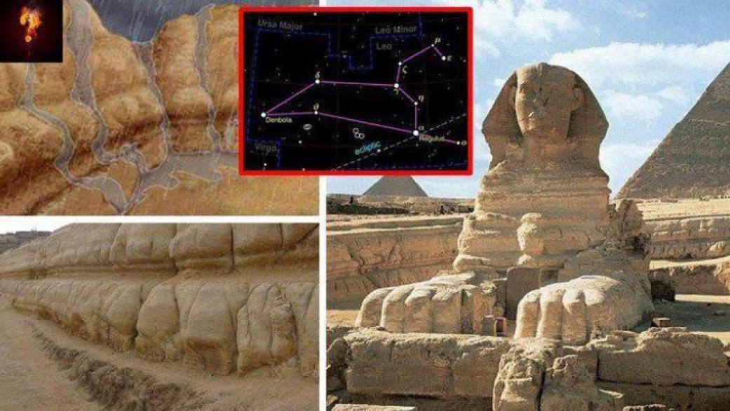 Geological evidence proves that the Great Sphinx is 800,000 years old 93