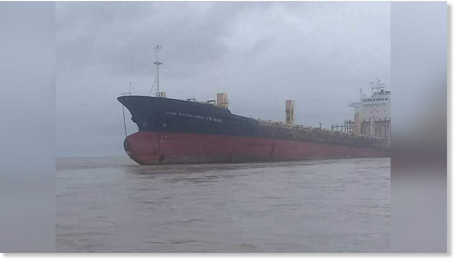 'Ghost ship' reappears off the coast of Myanmar after being lost at sea for 9 years 1