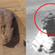 There is a hole in the Sphinx's head and it is now Covered Up 90