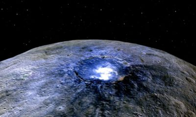 Dwarf Planet Ceres is Home to Mud Spewing Volcanoes 89