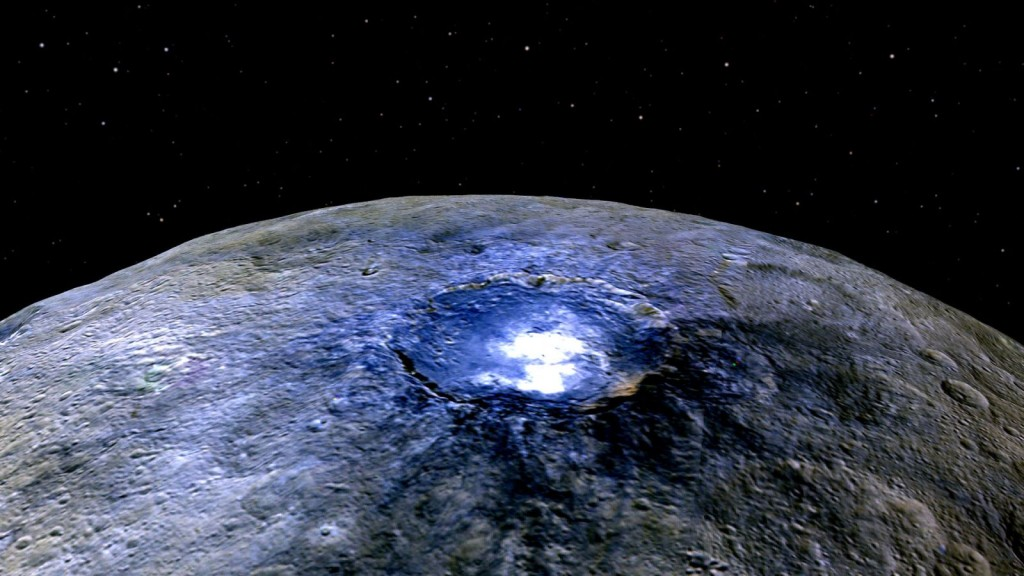Dwarf Planet Ceres is Home to Mud Spewing Volcanoes 10
