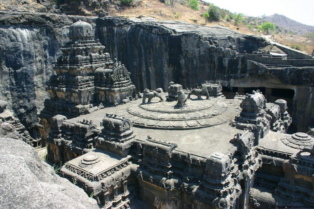 This Temple Was Carved Out Of A Single Rock – Nobody Knows How 'The Builders' Made It 3