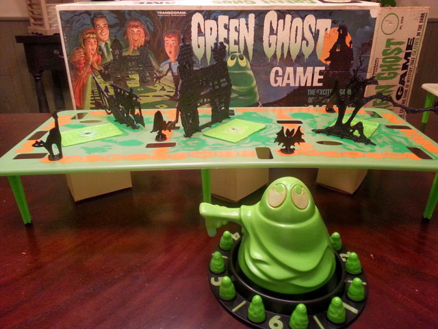 Green Ghost vintage game