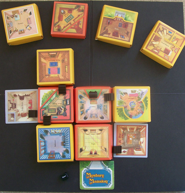 Mystery Mansion vintage game
