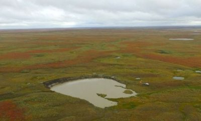 More and Bigger Sinkholes Appear on Yamal Tundra, Russia 95