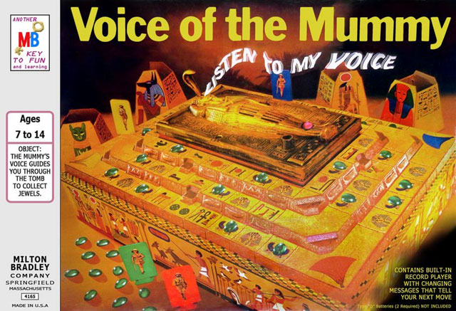 Voice of the Mummy board game