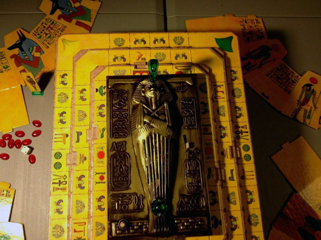 Voice of the Mummy vintage game