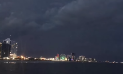 Strange lights filmed during storm over Myrtle Beach, South Carolina spark UFO theories 97
