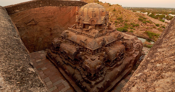 Ancient Impossible Constructions - Vettuvan Koil - Model Of Kailasa Temple Found 86