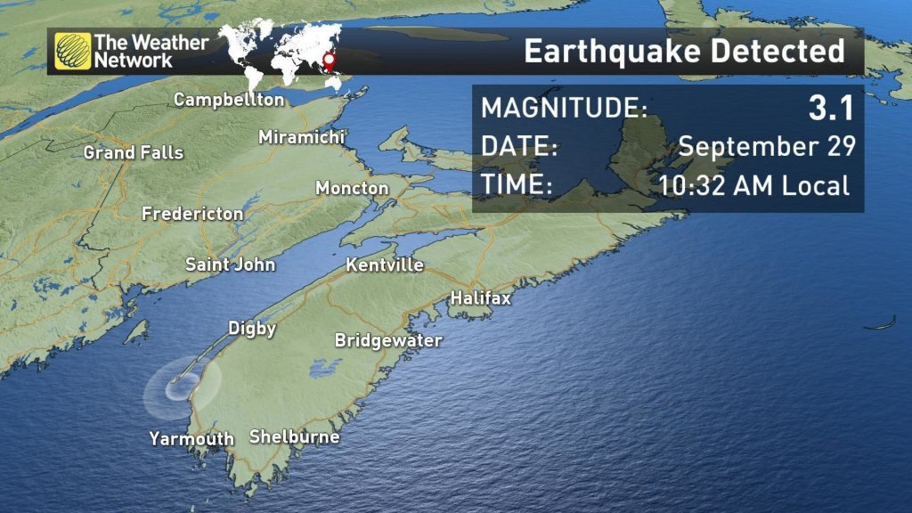 'Rumbles and a Boom' as 3.1M Earthquake Rattles Western Nova Scotia 86