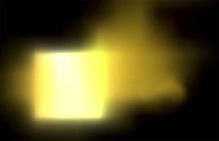 cube size sun ground - Images from NASA show a cube the size of Earth entering the Sun cube shaped UFO