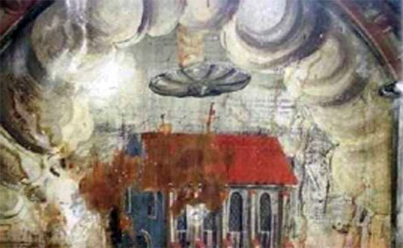 Historic Paintings That Clearly Depict UFOs 104