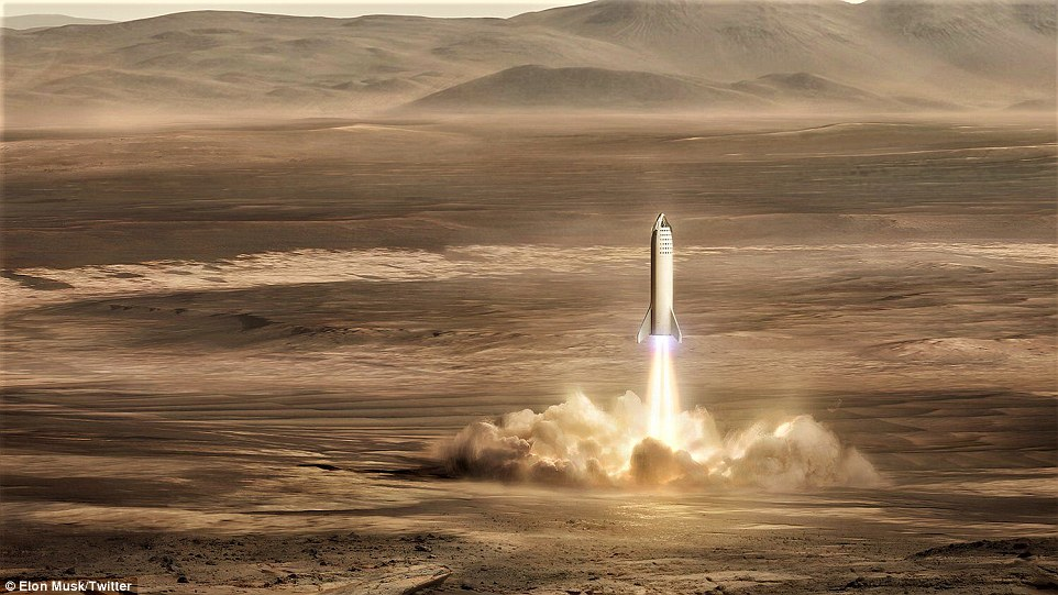 Elon Musk shows off plans for a Mars outpost and says it could be complete by 2028 7