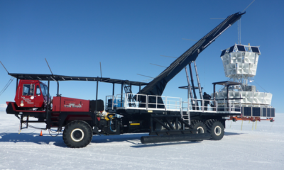 Bizarre particles keep flying out of Antarctica's ice, and they might shatter modern physics 88