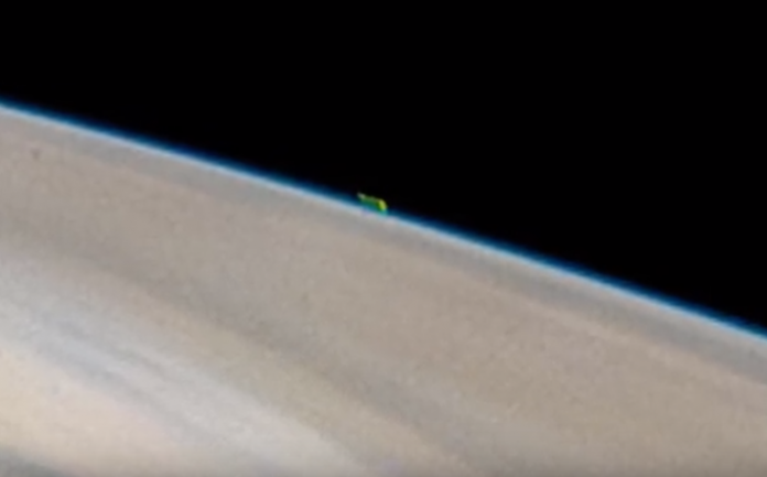 Mysterious green object spotted just above the surface of Jupiter 21