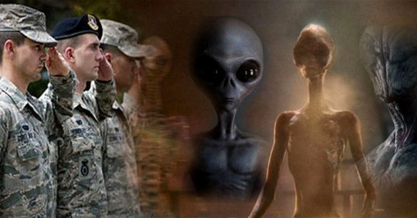 The Pentagon would have allowed the release of a video in which a US Army Soldier talks about various Alien races! 89