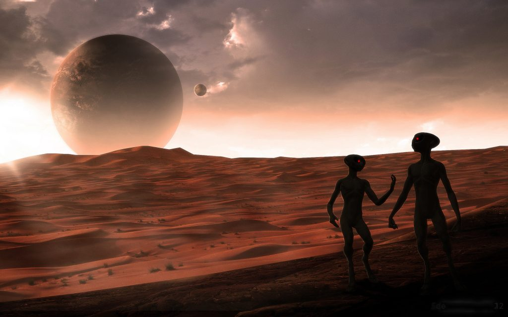A giant alien race inhabited Mars in the past 32