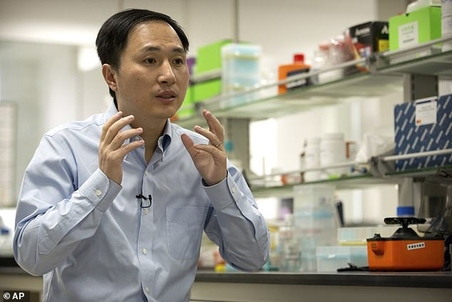 Chinese scientist claims to have created the world's first genetically edited BABIES 3