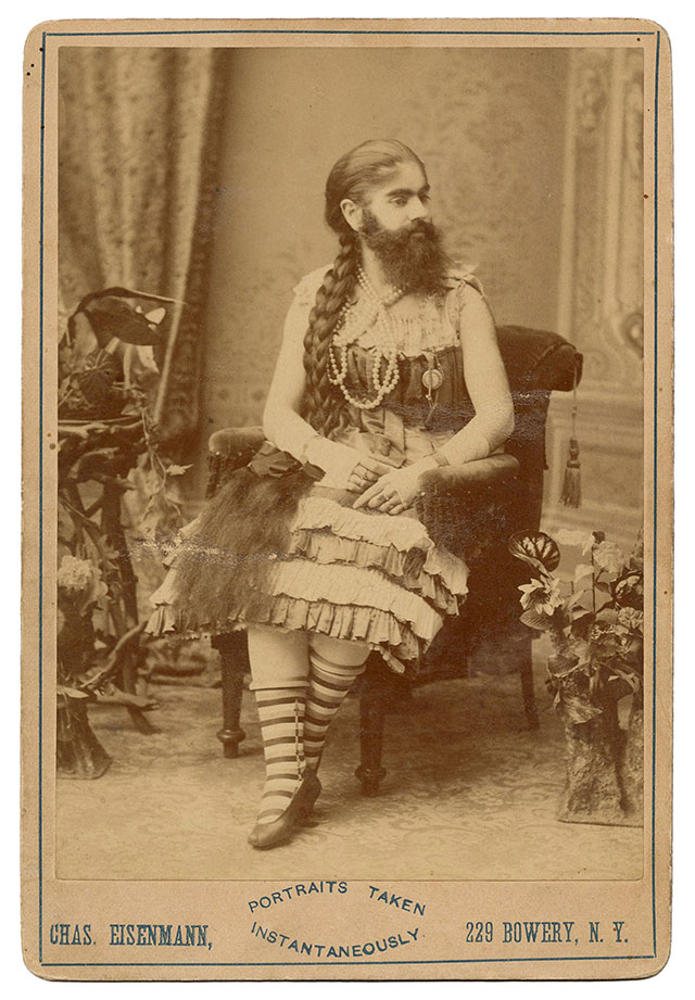 Bearded Lady Annie Jones