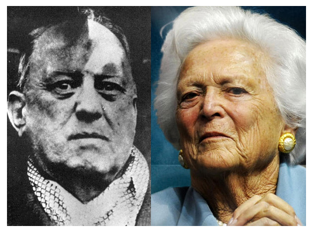 Was Barbara Bush the Daughter of Famous Satanist Aleister Crowley? 17