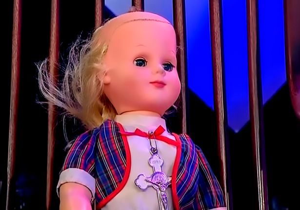 Haunted doll attacked man after becoming possessed 35