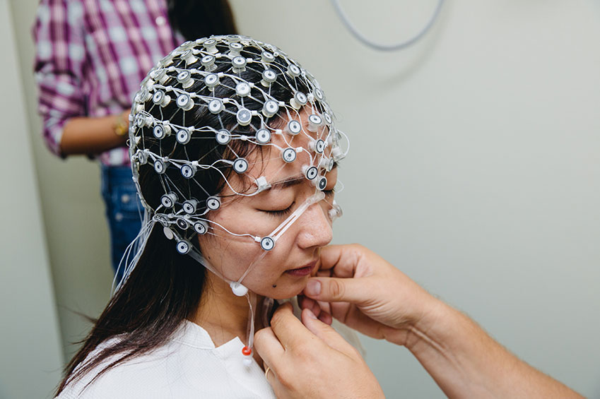 An EEG. Getty Images.