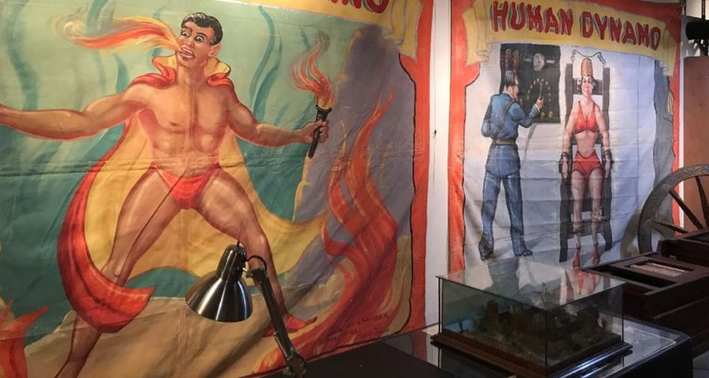 The Sideshow Collection of Johnny Fox Hits the Auction Block 5