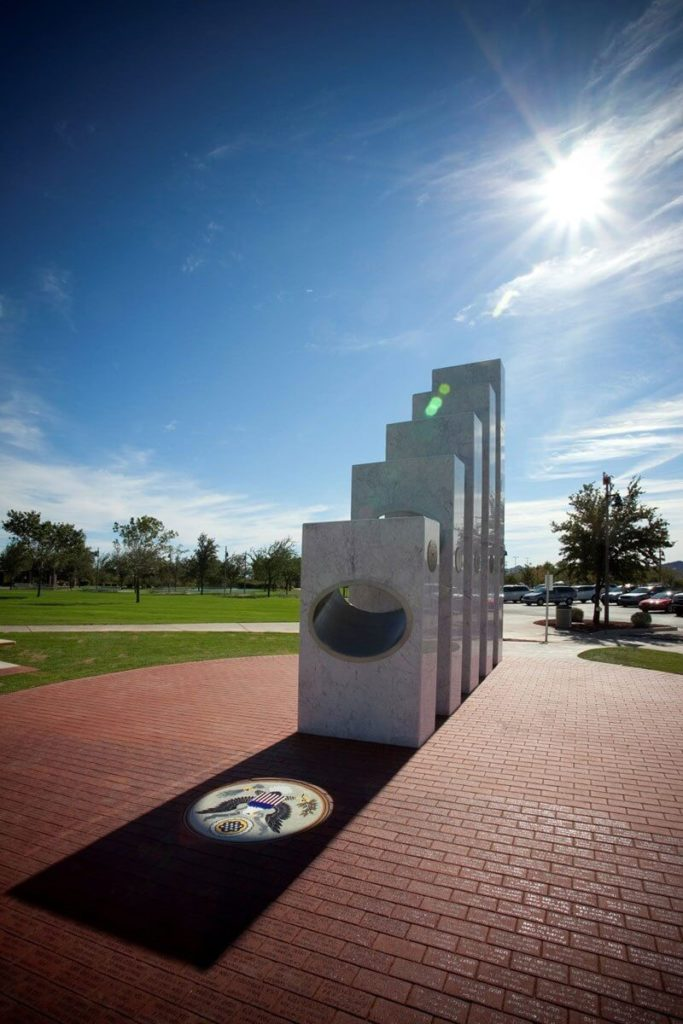 Once a Year at 11:11 am the Sun Shines Perfectly on this Memorial 102