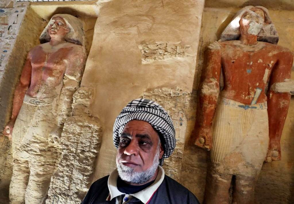 Stunning Photos Show 'One of a Kind' 4,400-Year-Old Tomb Just Discovered in Egypt 27