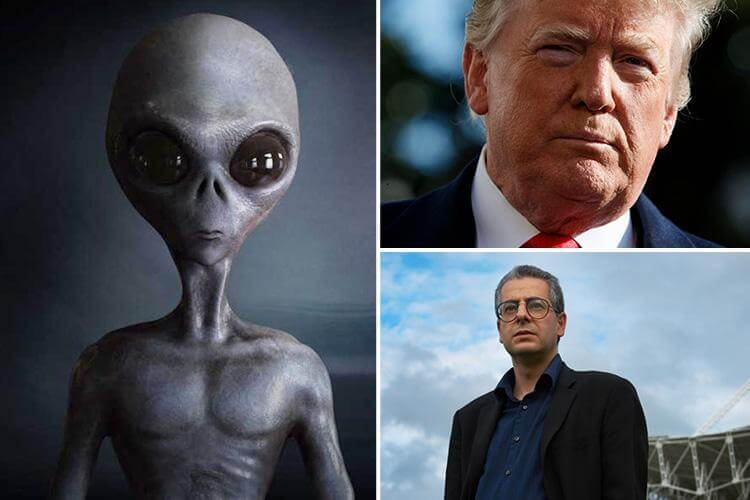Donald Trump may have launched US Space Force army after learning about America's UFO secrets, expert claims 96