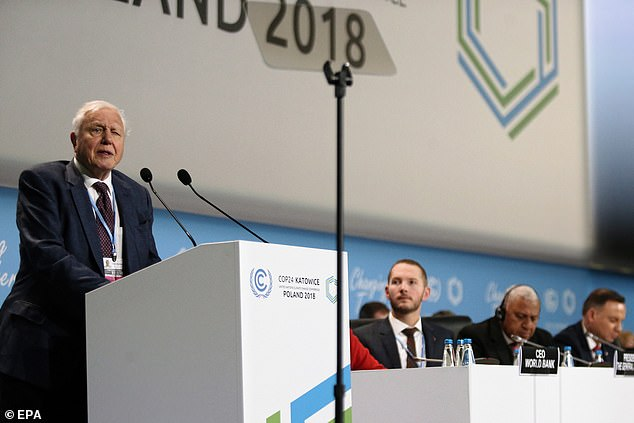 Sir David Attenborough warns global warming will cause the COLLAPSE of civilisation 10